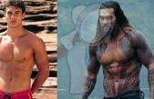 El cambio físico de Jason Momoa hasta ser Aquaman