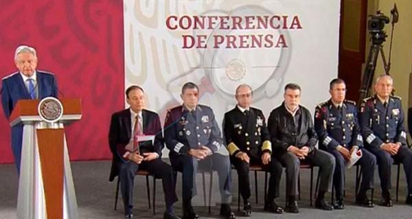 Conforma AMLO Guardia Nacional al mando Luis Rodríguez Bucio