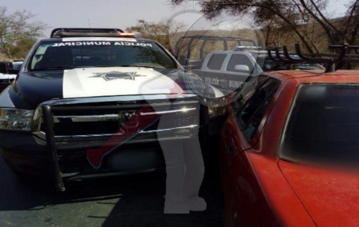 Tras movilización policíaca localizan vehículo con reporte de robo