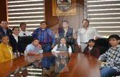 Karla Paola Arce Mejía niña Presidenta en Tequisquiapan