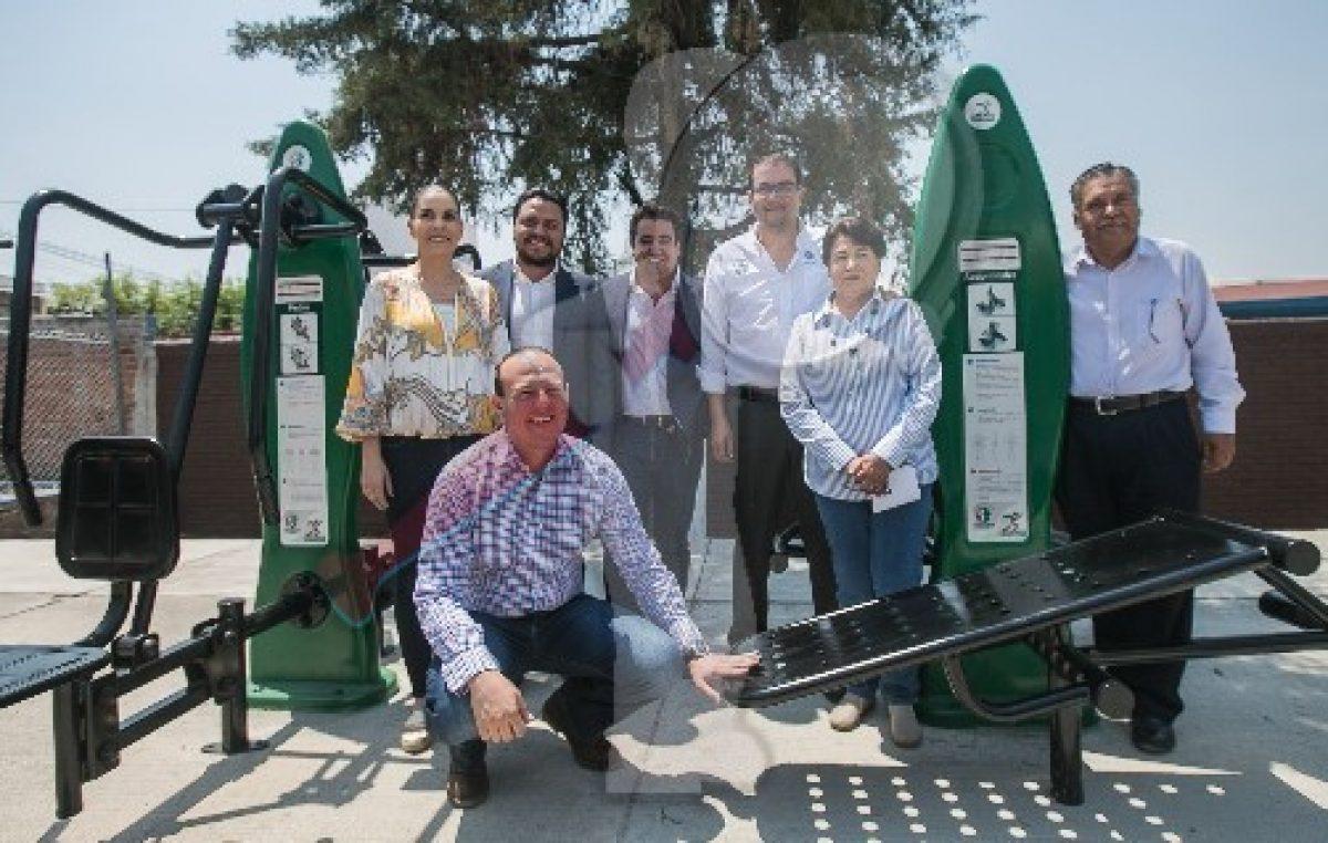Renuevan Parque 20 de Noviembre en Indeco