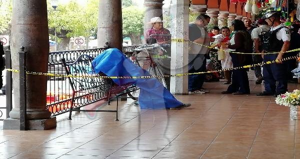 Fallece masculino al interior del Mercado Reforma