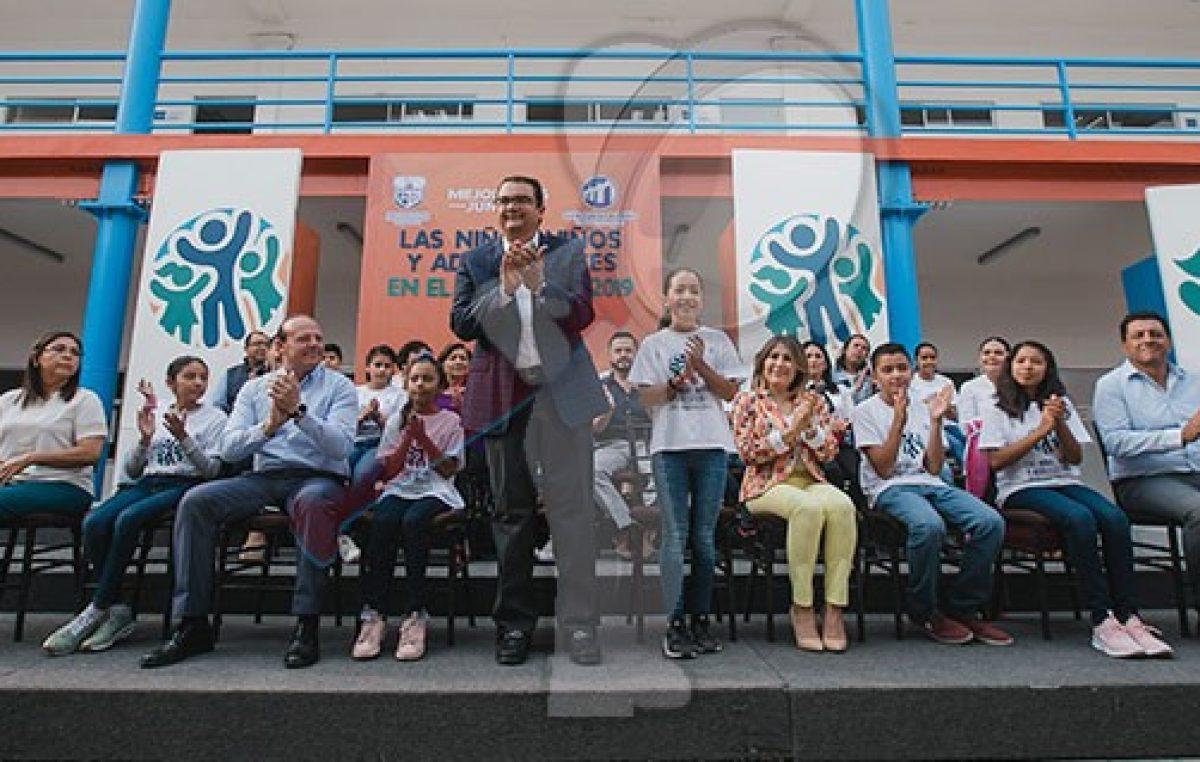 """Encabeza Memo Vega programa """"Niños, Niñas y Adolescentes en el Gobierno 2019"""""""