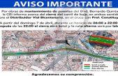 Informa CEI cierre parcial de carriles sobre Boulevard Bernardo Quintana