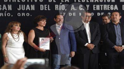 Toma Protesta el Consejo Directivo de la FECAPEQ de San Juan del Río