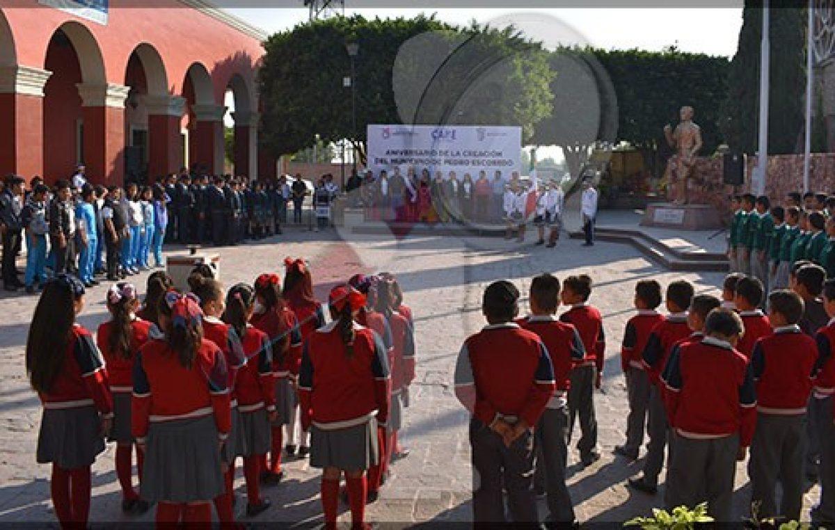 Celebran LXXVIII Aniversario del Municipio de Pedro Escobedo