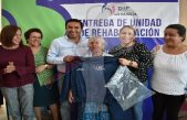 Araceli Olvera entrega Unidad Básica de Rehabilitación para los escobedenses