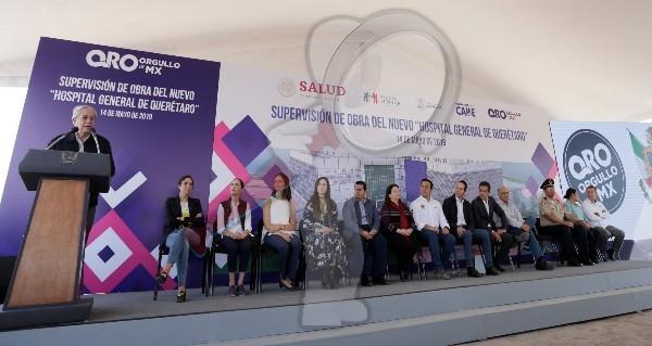 Supervisan obras de nuevo Hospital General de Querétaro