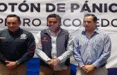 """Presenta Amarildo Bárcenas aplicación """"Botón de Pánico"""""""
