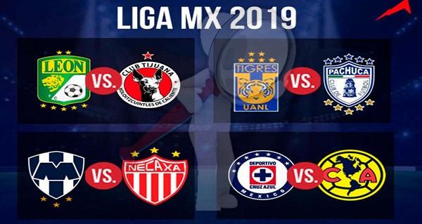 Listos los duelos de cuartos de final de la Liga MX