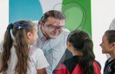 Entrega Memo Vega obra en primaria de Nuevo San Juan