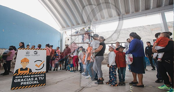 Aprueban habitantes de Cazadero rehabilitación de Casa Ejidal