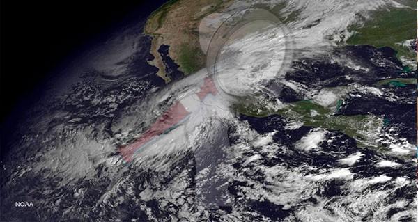 Habrá 33 ciclones tropicales en esta temporada en aguas mexicanas