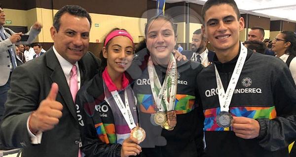 El primer oro para Querétaro en la Olimpiada Nacional 2019