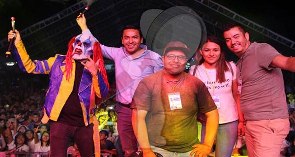 """""""Color Fest"""" todo un éxito en la Feria del Grano y la Cantera 2019"""