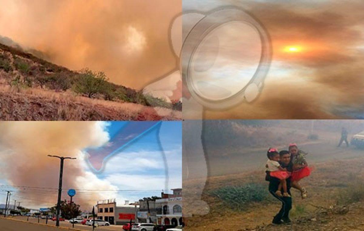 Impresionante incendio alerta a ciudadanos en San Juan del Río
