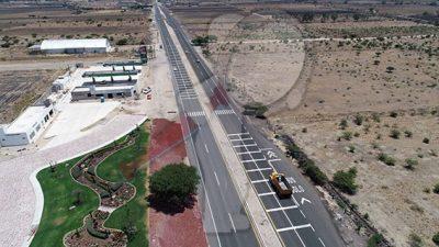 Vialidad segura con el libramiento Santa Bárbara-Palmillas-Apaseo