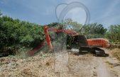 Realizan trabajos preventivos de lluvia en río San Juan