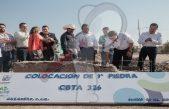 Inician construcción de Bachillerato en Cazadero