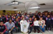 Abanderan a jóvenes que asisten a Juegos Deportivos de Educación Básica