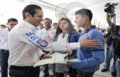 Arranca Pancho Domínguez obra social en Huimilpan