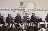 Inaugura ampliación de planta Externals de ITP Aero por 35.2 mdp