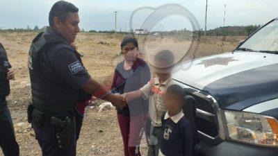 Localizan a niños extraviados en San Juan del Río