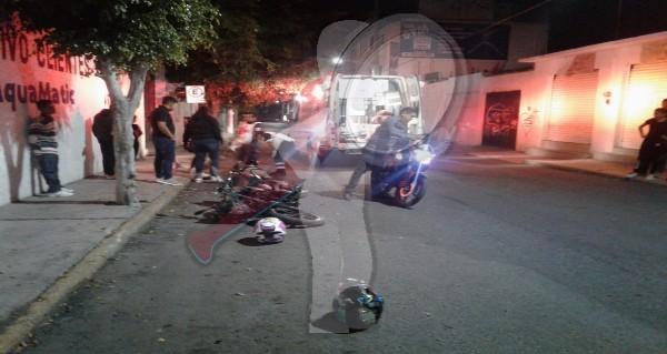 Camioneta huye luego de embestir a ciclista