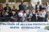 Entrega Memo Vega aula didáctica en Soledad del Río