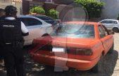 """Recuperan auto robado """"pintado como taxi"""" en SJR"""