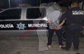 Cae presunto narcomenudista en San Juan del Río