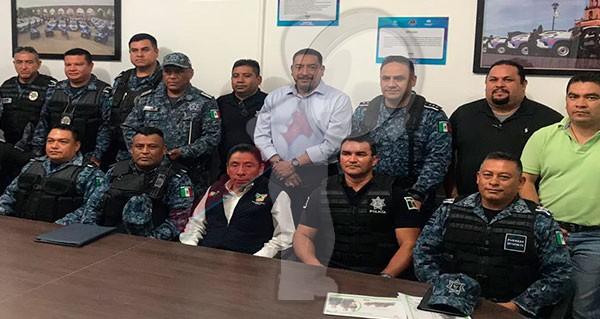 Se mantiene coordinación para reforzar seguridad de fronteras