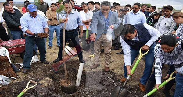 Exitosa Jornada de Reforestación en Pedro Escobedo