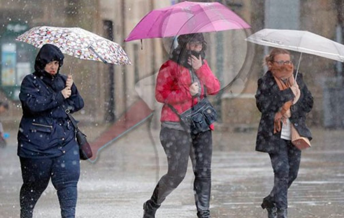 Frente frío ocasionará tormentas al noroeste y norte de México