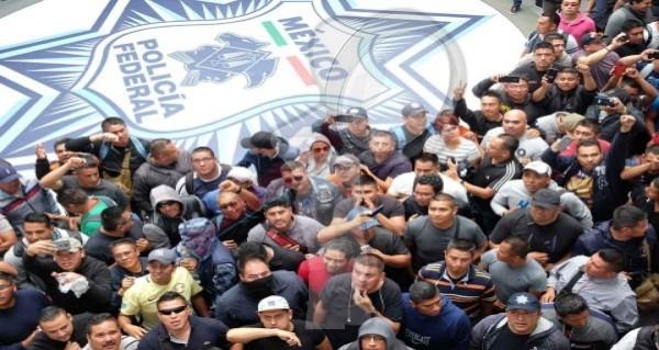 Policía Federal convoca a Paro Nacional este 4 de Julio