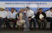 Anuncian 200 mdp para obra social en Colón