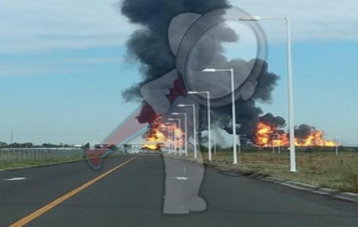 Explota ducto de PEMEX en Celaya; hay heridos