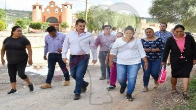 Invierten 4 mdp en rehabilitación de calles en Fuentezuelas