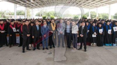 Entrega CECYTE séptima generación de estudiantes egresados