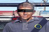 Sujeto detenido con droga y vehículo robado en Paso de Mata