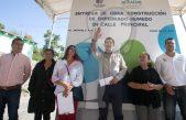 Entrega gobierno municipal obra en El Jazmín