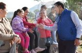 Realiza Amarildo Bárcenas recorrido de arranque y entrega de obras en Escobedo