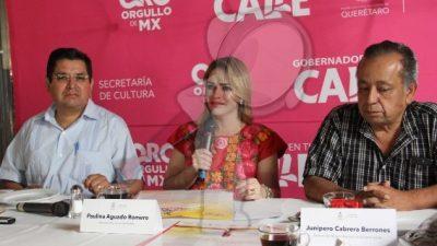 Anuncian XX Festival de Santiago en Jalpan de Serra