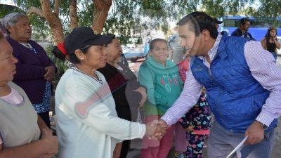 Encabeza Amarildo Bárcenas arranque de obras en Escobedo