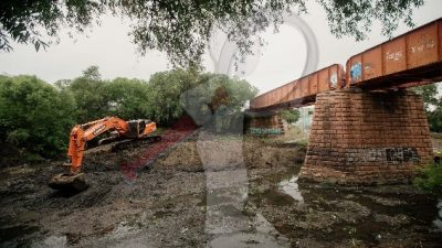 Desazolve del Río San Juan continúa para evitar riesgos ante lluvias
