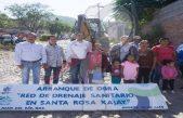 Inician obras de servicios básicos en Santa Rosa Xajay