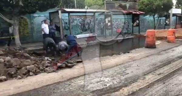 Fuga de agua potable deja sin servicio a 32 colonias en SJR