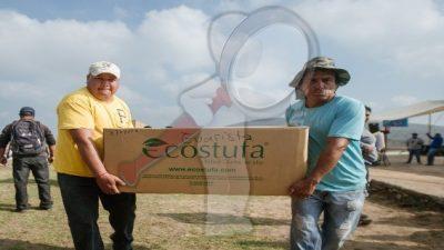 Realizan entrega de calentadores solares a familias sanjuanenses