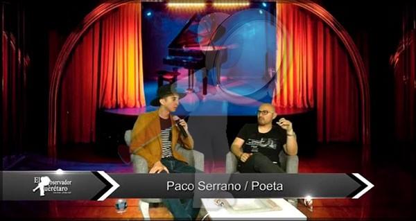 """Palabras Vivas """"Paco Serrano"""" Poeta"""