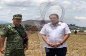 Presenta Memo Vega predio para base de Guardia Nacional